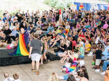cville pride festival performances