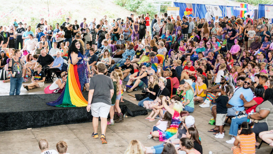 cville pride festival performances