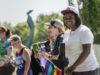 Zackeya at equality march
