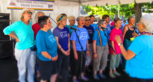 cville womens choir at cville pride