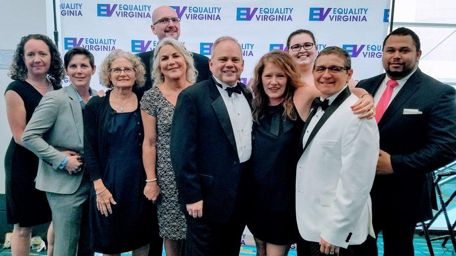 Cville folks at 2018 EV Dinner