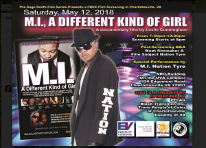 MI A Different Kind of Girl free film screening
