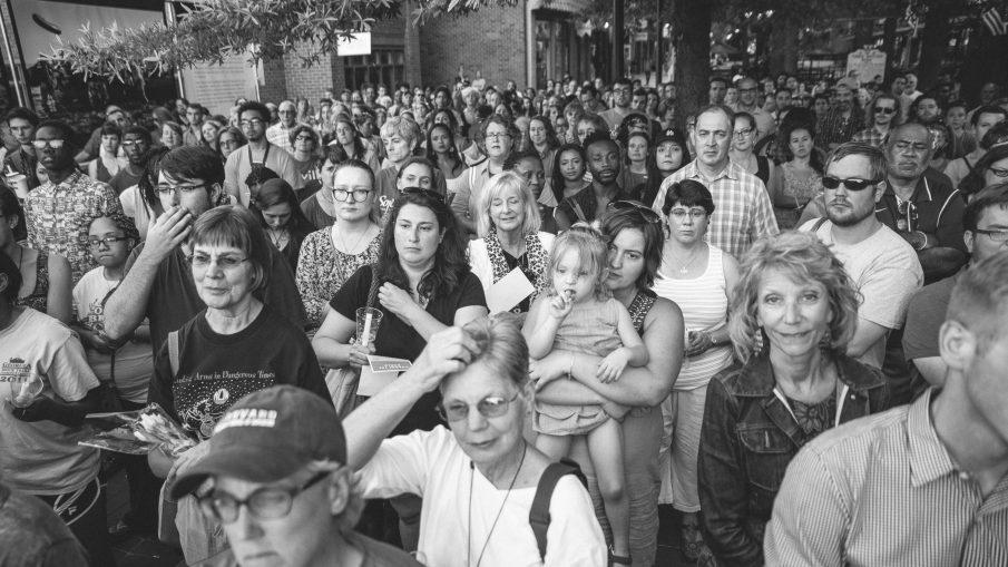 Cville Pride Vigil for the orlando shooting