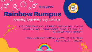story time for Pride Week