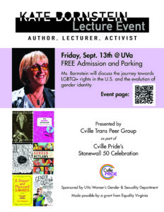 kate bornstein talk at uva