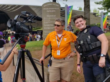 Bex with the City Police is the new LGBTQ liaison